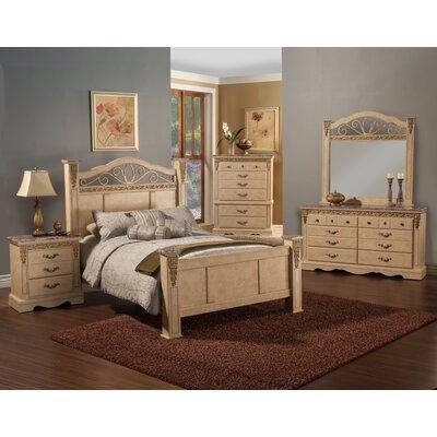 Sandberg Furniture Belladonna Palace Panel Bed