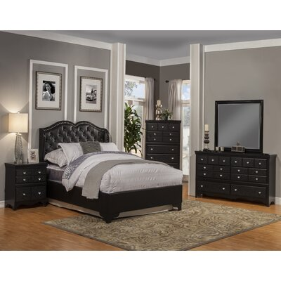 Sandberg Furniture Eva Platform Customizable Bed..