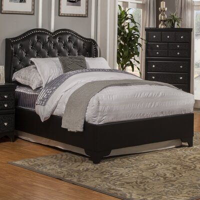 Sandberg Furniture Eva Upholstered Panel Bed