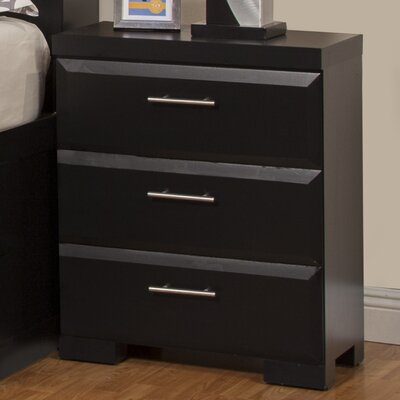 Sandberg Furniture Serenity 3 Drawer Nigh..