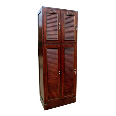 D-Art Collection Louvered Armoire