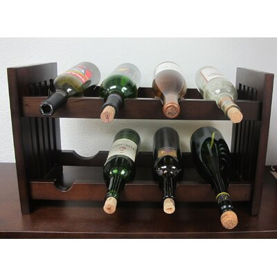 D-Art Collection Old Country 8 Bottle Tabletop W..