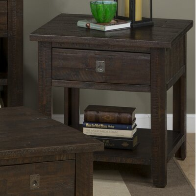 Three Posts Bulwell End Table Image