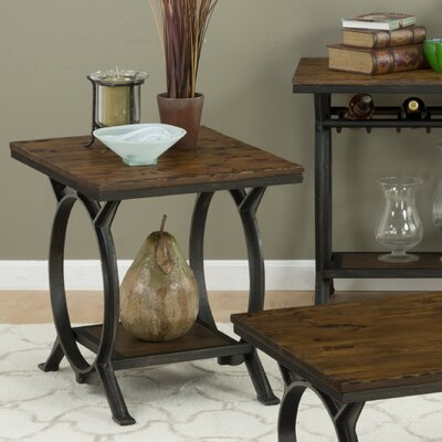Loon Peak Red Cliff End Table