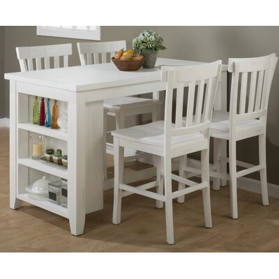 Beachcrest Home Sanderling 5 Piece Dining Set