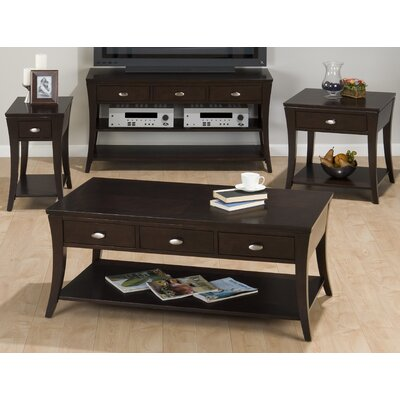 Jofran Double Header Mobile Coffee Table ..
