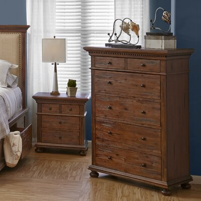Three Posts Addison Avenue 5 Drawer Chest
