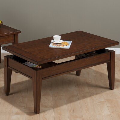 Jofran Dunbar Coffee Table with Lift Top
