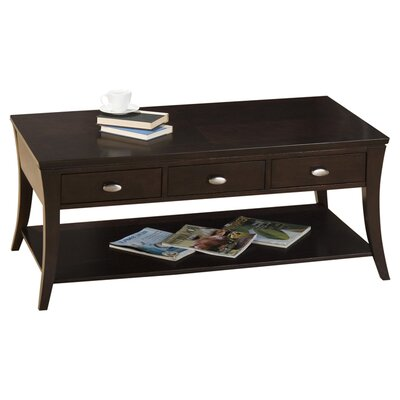 Jofran mobile double header coffee table reviews wayfair for Table header