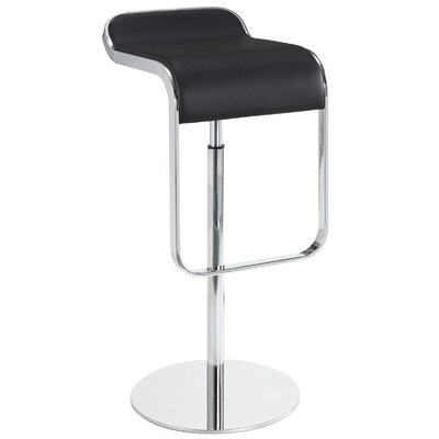 Volo Design, Inc Gravity Adjustable Height Swivel Bar Stool with Cushion (Set of 2)