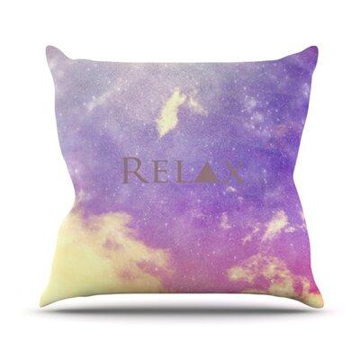 Throw Pillows That Say Relax : KESS InHouse Relax Throw Pillow Wayfair