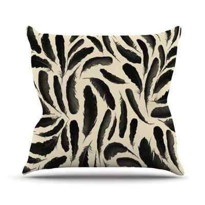 Throw Pillows With Feather Design : KESS InHouse Feather Pattern Throw Pillow & Reviews Wayfair