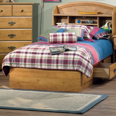 South Shore Prairie Twin Mate's Bed with Storage