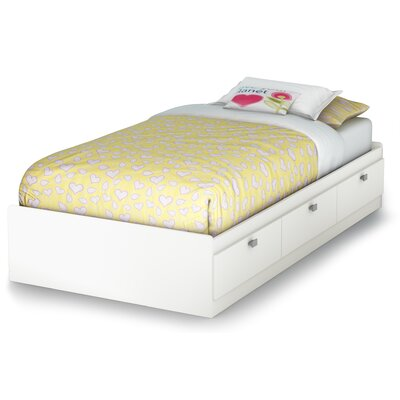 South Shore Sparkling Mate's Bed with Stor..