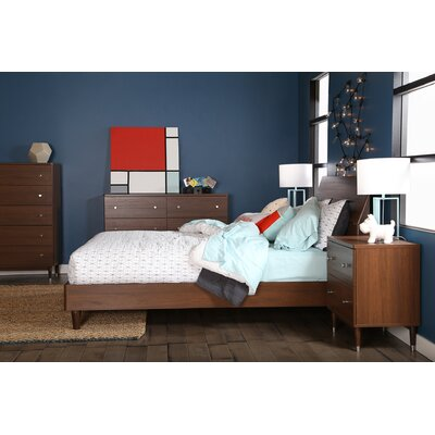South Shore Olly Queen Platform Customizable Bedroom Set