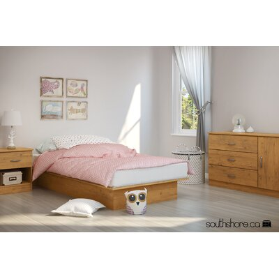 South Shore Libra Twin Platform Customizable Bedroom Set