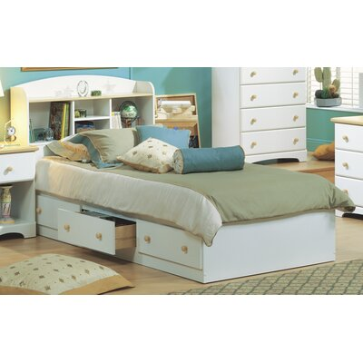 South Shore Newbury Twin Mate's Bed with Storage