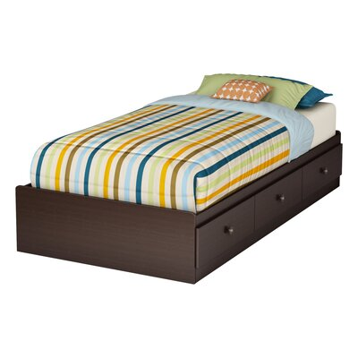 South Shore Zach Twin Mate's Bed with Storage