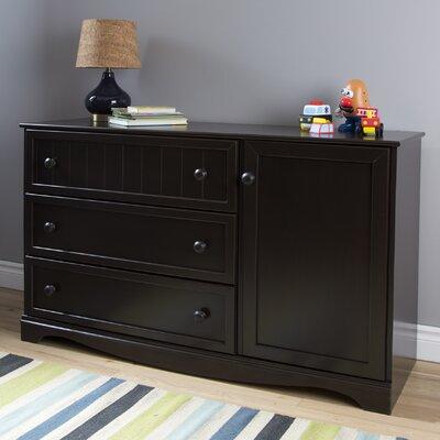 South Shore Savannah 3 Drawer Combo Dresser