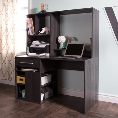 South Shore Annexe Computer Desk with Hutch