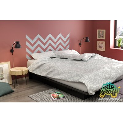South Shore Step One 9.75in Tall Queen Platform Bed