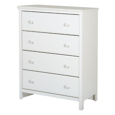 South Shore Cotton Candy 4 Drawer Chest