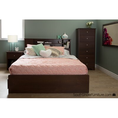 South Shore Vito Queen Mate's Bed with Storage
