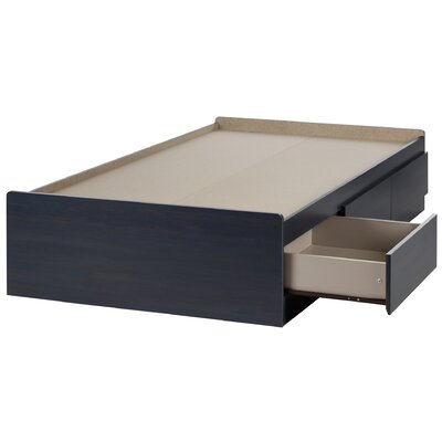 South Shore Aviron Twin Mate's Bed with Dr..