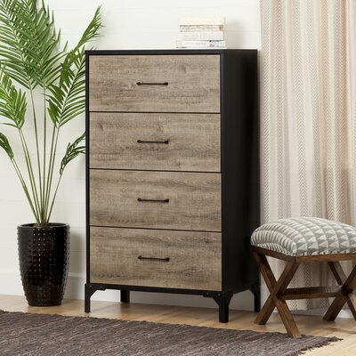 South Shore Valet 4 Drawer Chest