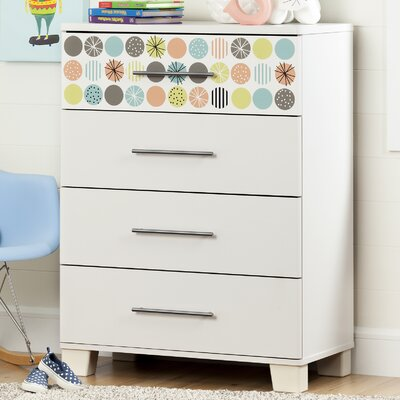 South Shore Cuddly 4 Drawer Chest