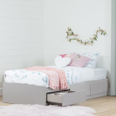 South Shore Reevo Twin Mate's Bed with 3 Drawer