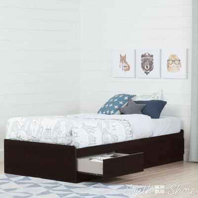 South Shore Twin Mate's Bed with 3 Drawer