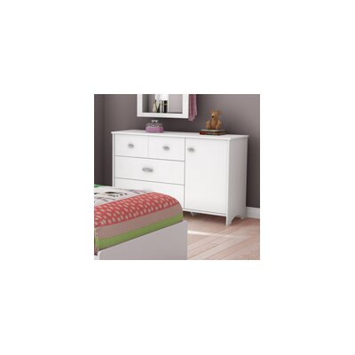 South Shore Tiara 3 Drawer Combo Dresser