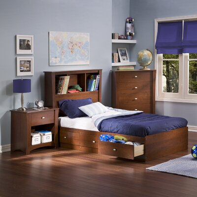 South Shore Jumper Twin Platform Customizable Bedroom Set