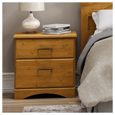 South Shore Cabana 2 Drawer Nightstand