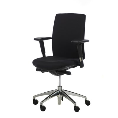 Synergie Strategie Performer Mid Back Ergonomic Task Chair with Arms