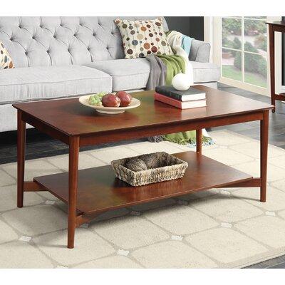 Convenience Concepts Savannah Mid Century Coffee Table