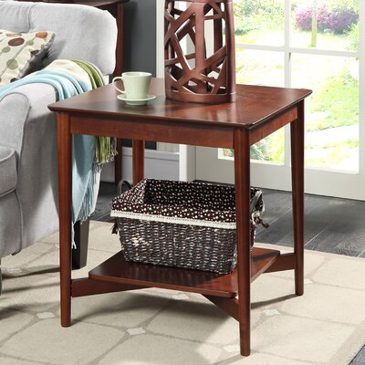 Convenience Concepts Savannah Mid Century End Table