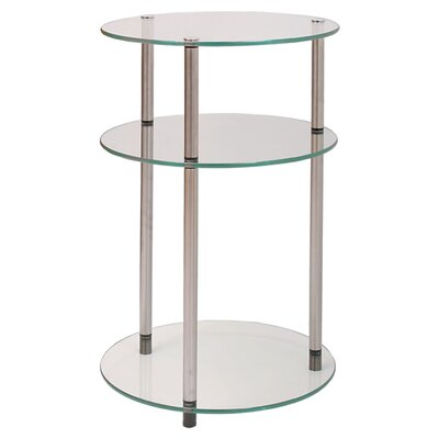 Zipcode™ Design Elizabeth Three Tier End Table