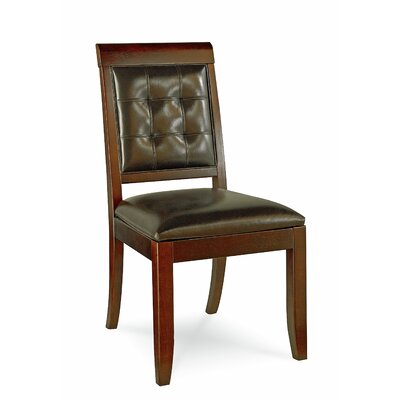 Hammary Tribecca Mid-Back Leather Desk Chair