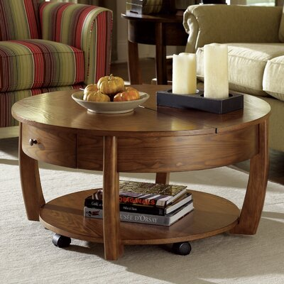 Hammary Concierge Coffee Table with Lift Top