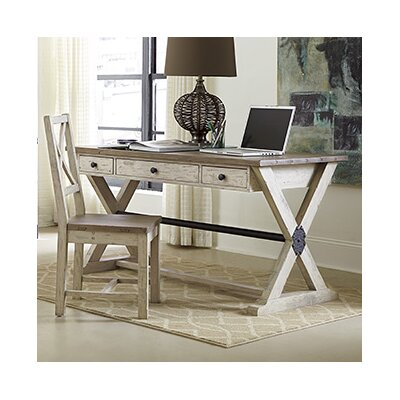 Hammary Reclamation Place 2-Piece Standard Desk Office Suite