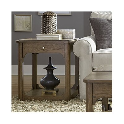 Hammary Facet End Table