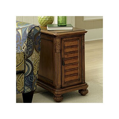 Hammary Grand Isle Chairside Table
