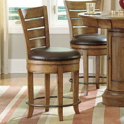 Hammary Hidden Treasures Swivel Bar Stool