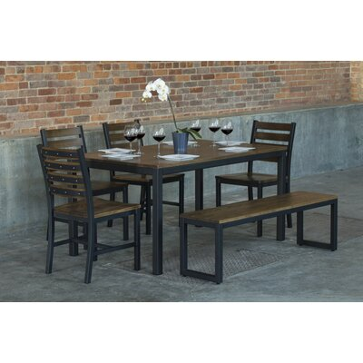Elan Furniture Loft  6 Piece Dining Set