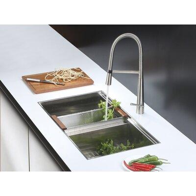 Ruvati 33 X 19 Kitchen Sink With Faucet Wayfair