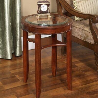 All Things Cedar Glass Tea Table
