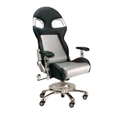 PitStop Furniture Chair with Lumbar Support