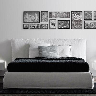 Pianca USA Piumotto Upholstered Platform Bed